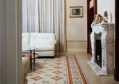 Villa in Pistoia, Studio arch. Bucciantini e P. Bartoli